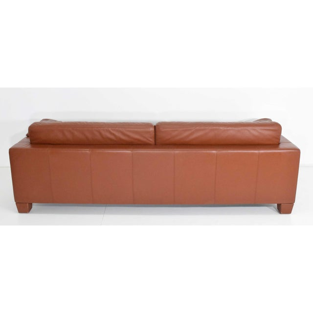 1990s Vintage De Sede Leather Sofa For Sale In Dallas - Image 6 of 11