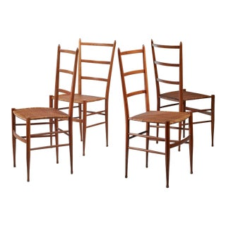 Set of four Chiavari chairs, Italy For Sale