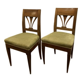 Bidermeier Side Chairs - a Pair For Sale