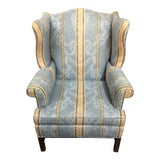 Image of Hickory Chair Traditional Upholstered Wingback Chair For Sale