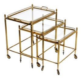 Image of Brass Nesting Tables