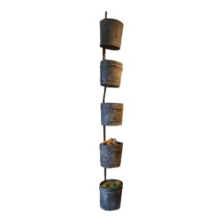 French Gravel Buckets Decoration - 5 Pieces For Sale