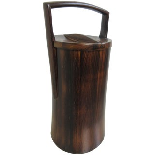 Jens Quistgaard for Dansk Rosewood Ice Bucket For Sale