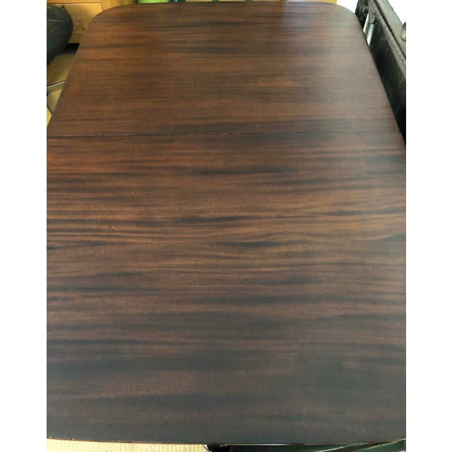 Early 20th Century 20th Century American Classical Duncan Phyfe Style Dining Table For Sale - Image 5 of 7