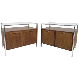 Midcentury End Tables - A Pair For Sale