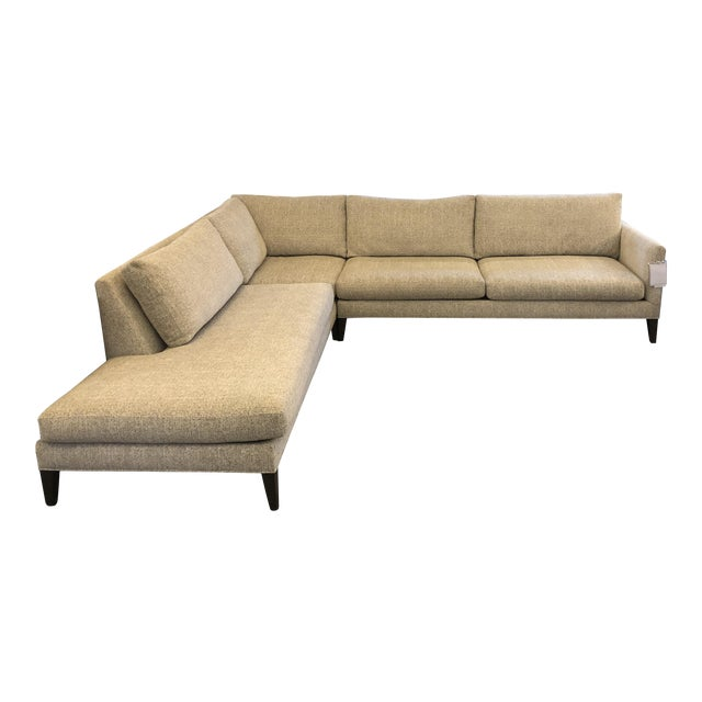 New Thayer Coggin Notti Sectional - Image 1 of 11
