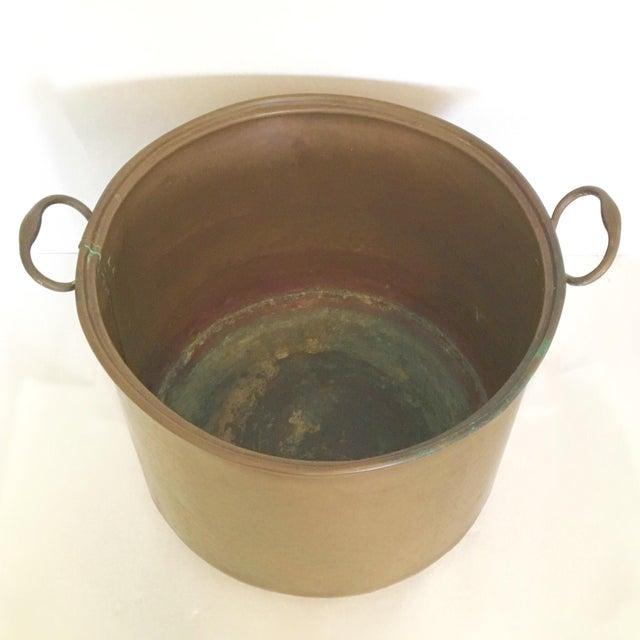 Vintage Rustic Copper Pot - Image 4 of 7