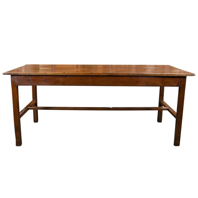 French Fruitwood Farm Table - Image 1 of 6