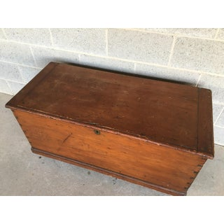 Antique Pine Dovetailed Blanket Chest Preview