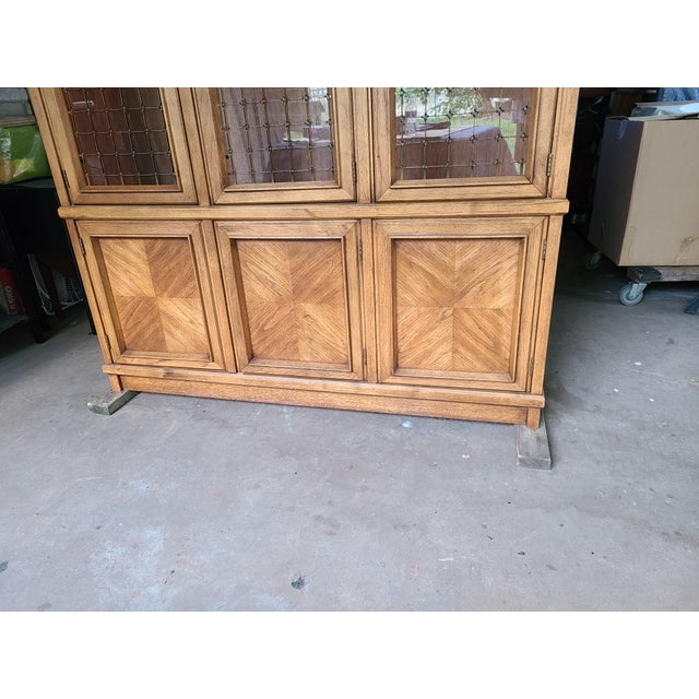 Brown 1960s Drexel Compatica China Cabinet For Sale - Image 8 of 13