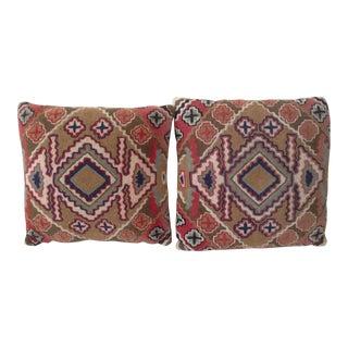 Handmade Kilim Pillows - A Pair