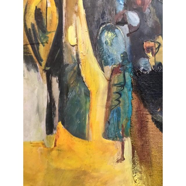 Mixed Media Original Oil Painting - Image 7 of 11