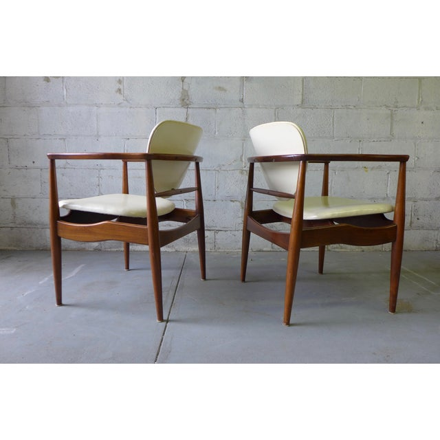 Mid-Century John Stuart Dining Chairs - S/6 For Sale - Image 7 of 7