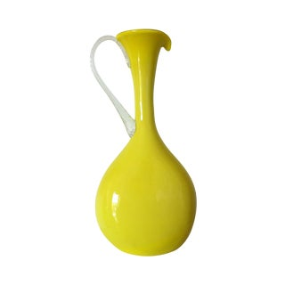 Cased Flat Teardrop Ewer