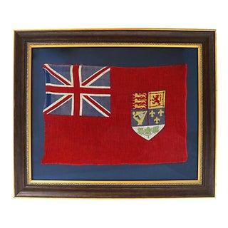 Antique 1907 Canadian Red Ensign Flag For Sale
