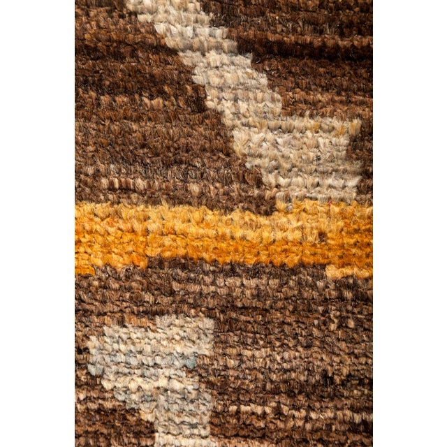 """Moroccan Style Hand Knotted Area Rug - 8'3"""" X 10' - Image 3 of 3"""