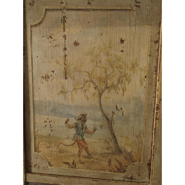 Antique Painted Commode From Italy, 19th Century For Sale In Dallas - Image 6 of 13