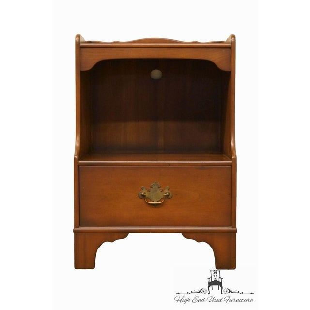 "KINDEL Grand Rapids Solid Cherry 20"" Nightstand 2 available, priced each. 30"" High 20.25"" Wide 16.25"" Deep We specialize..."