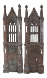 Image of Gothic Revival Room Accents and Accessories