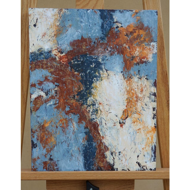"""2020s Laurie MacMillan """"Doubling Back"""" Abstract Painting For Sale - Image 5 of 5"""