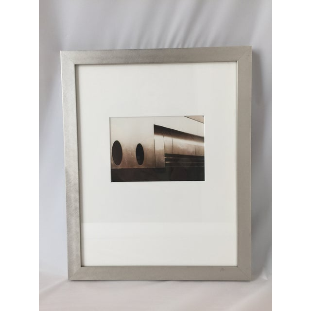Modern framed photograph by Y. Shen. Purchased at the Los Angeles Modernism Show in the late 90s. Excellent condition....
