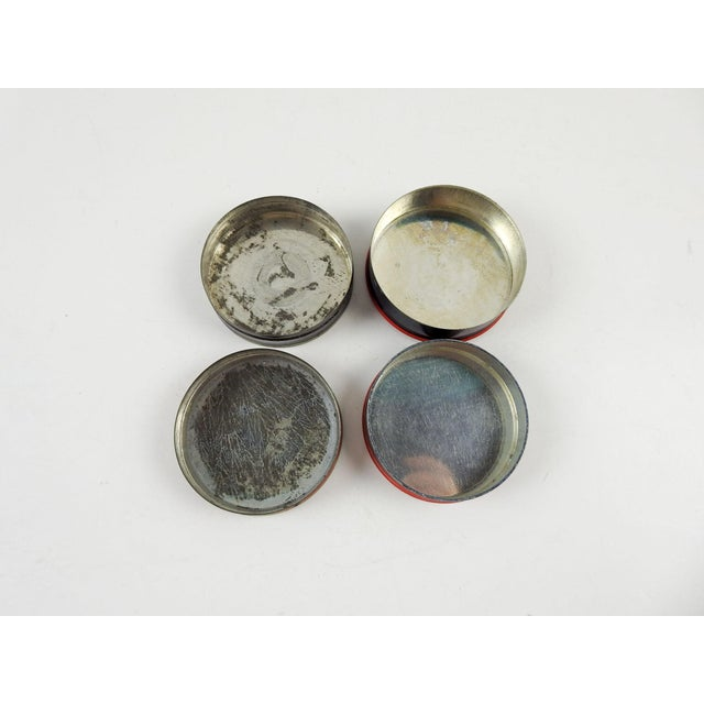 Art Deco Art Deco Typewriter Ribbon Tins - a Pair For Sale - Image 3 of 5
