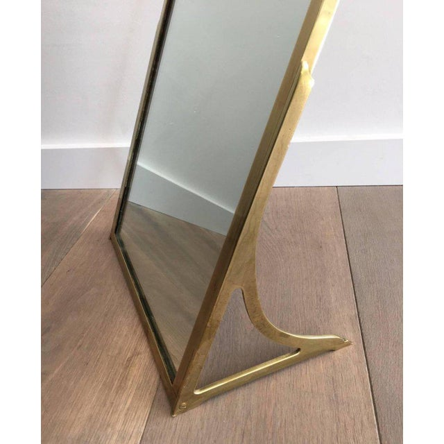 Brass Dressing Mirror Made for Shoes - Image 5 of 11