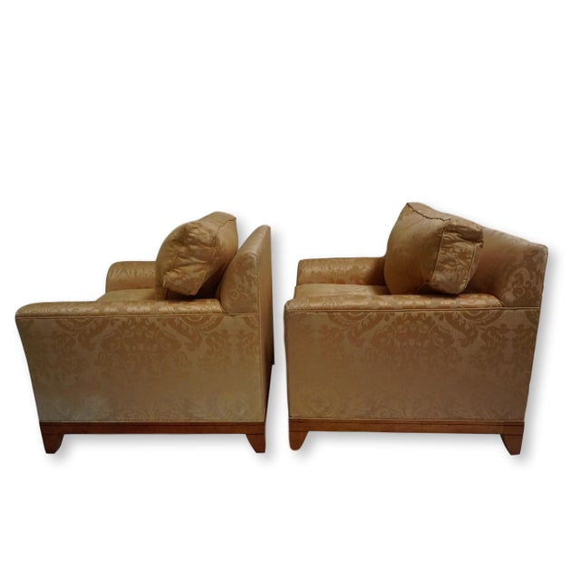Fortuny Fortuny Style Club Chairs-A Pair For Sale - Image 4 of 10