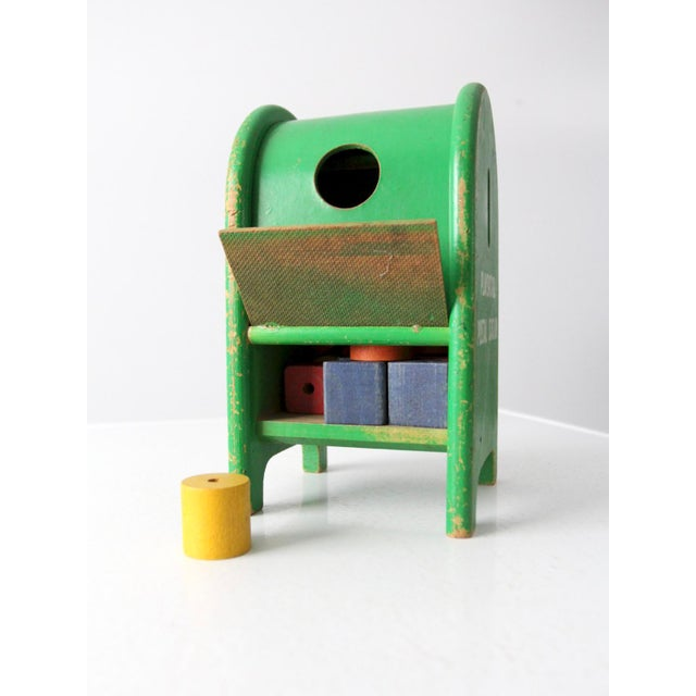 Fantastic Mid Century Playskool Postal Station Toy Gmtry Best Dining Table And Chair Ideas Images Gmtryco