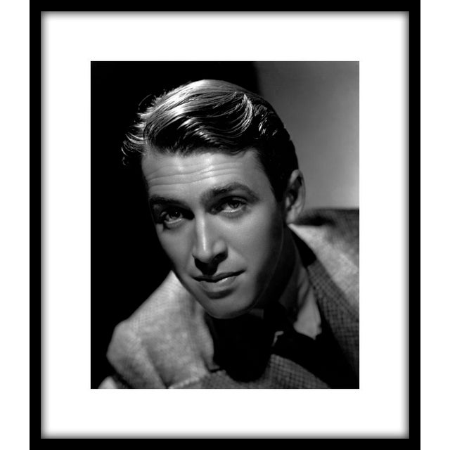 """James Stewart, 1936. Photo by Ted Allan. 11"""" x 14"""" silver gelatin print. Printed under the direct supervision of Sid Avery..."""