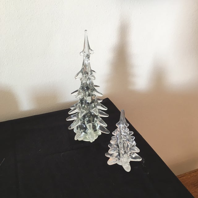 Crystal Holiday Trees - A Pair - Image 2 of 3