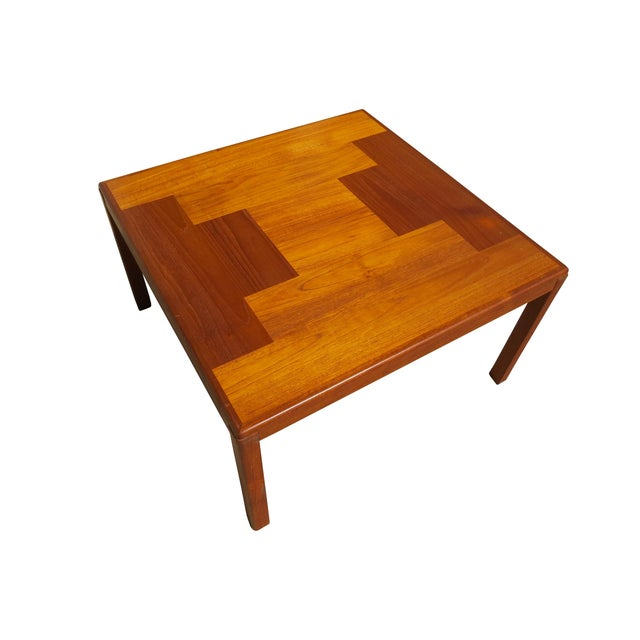 1960s Danish Mid-Century Modern Henning Kjaernulf Vejle Stole Møbelfabrik Side Table For Sale In Chicago - Image 6 of 11