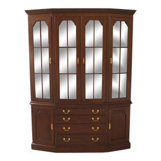 Henkel Harris Mahogany China Cabinet For Sale