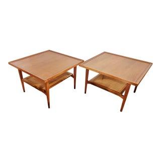 Vintage Kipp Stewart & Stewart Macdougall for Drexel 'Declaration' End Tables- A Pair For Sale
