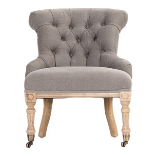 Kaylan Chair in Beige For Sale
