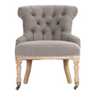 Kaylan Chair in Beige For Sale