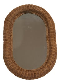 Image of Wicker Wall Mirrors