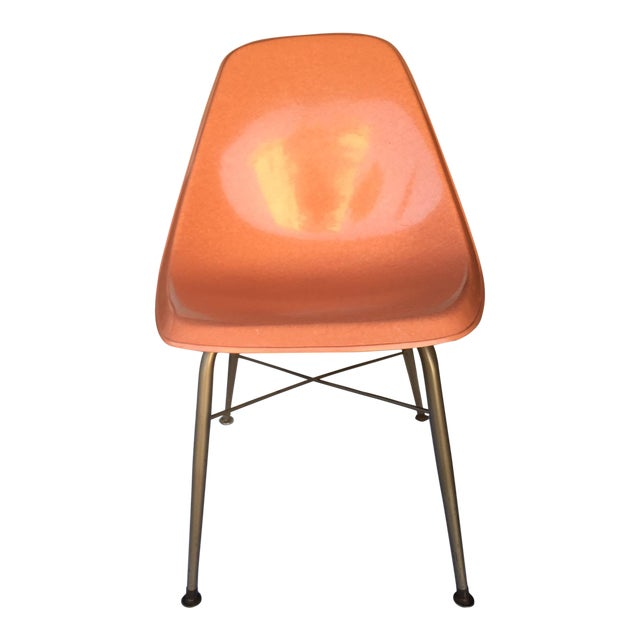 Mid-Century Fiberglass Shell Chair - Image 1 of 4