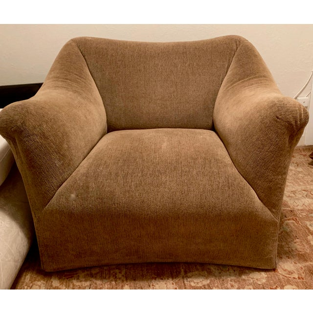 1970s 1970s Vintage Mario Bellini for Cassina Italian 685 Armchair- A Pair For Sale - Image 5 of 13