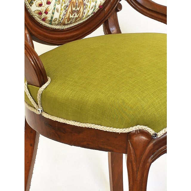 Victorian Parlor Side Chair - Image 4 of 6