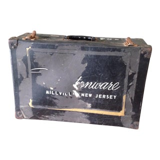 Vintage Salesman's Suitcase
