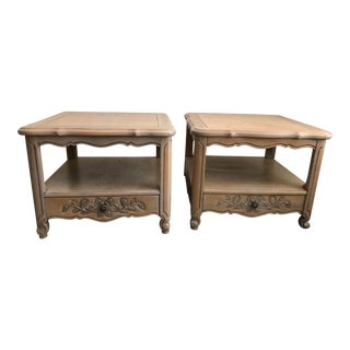 Thomasville French Provincial End Tables - a Pair For Sale