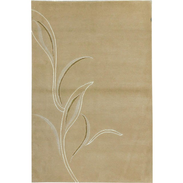 Contemporary Hand Woven Rug - 4' x 6' - Image 1 of 4