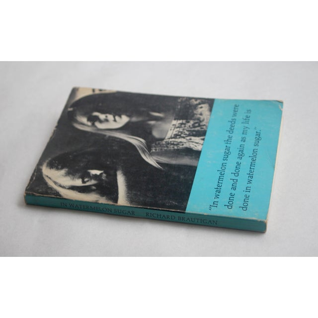 Mid-Century Modern Brautigan's 1st Ed. 'In Watermelon Sugar' Book For Sale - Image 3 of 6