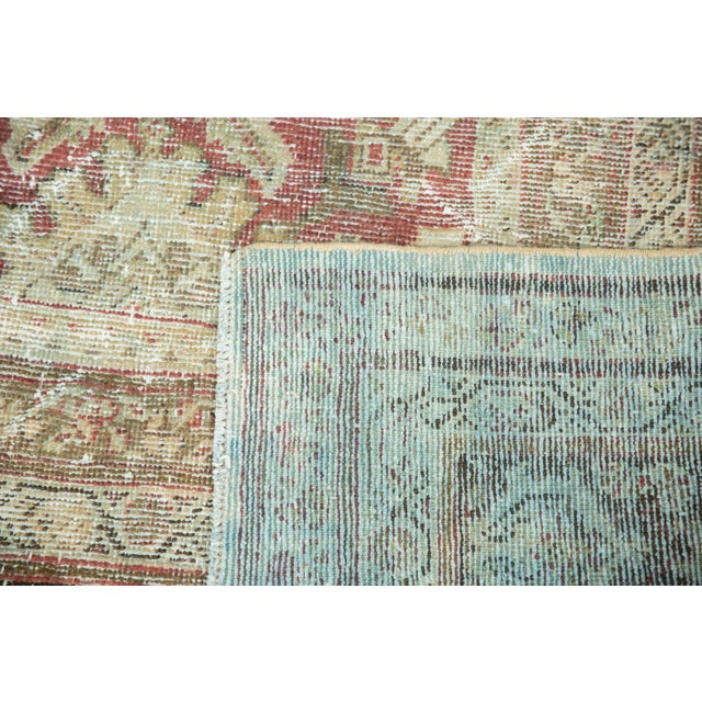 "Vintage Distressed Mahal Carpet - 10'5"" X 13'11"" For Sale In New York - Image 6 of 13"