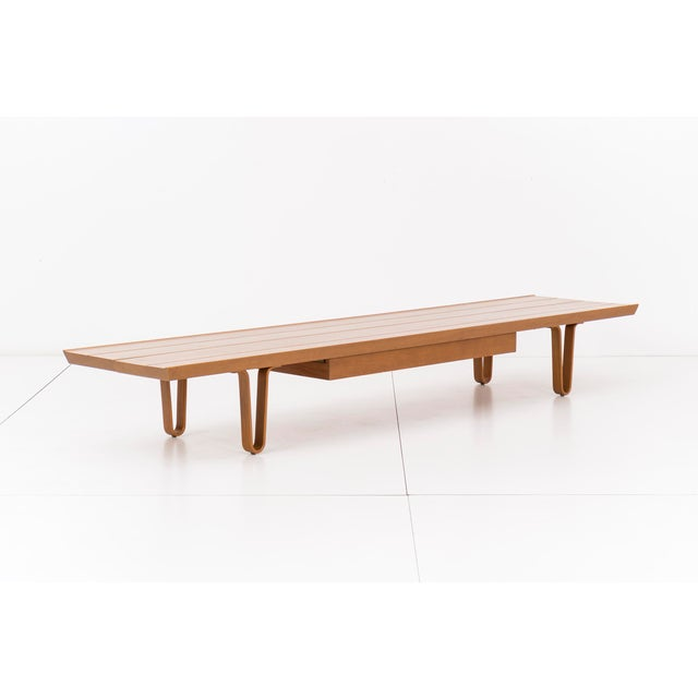 "1950s Edward Wormley ""Long John Bench"" For Sale - Image 5 of 8"