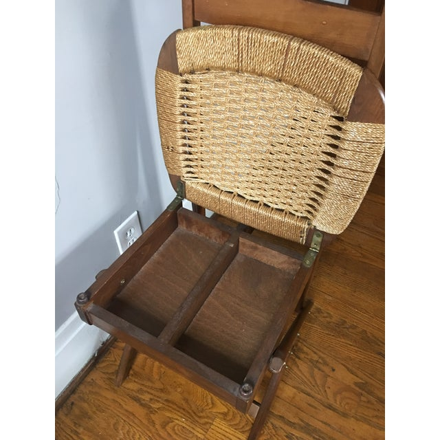 Fratelli Reguitti Mid Century Italian Valet Chair For Sale - Image 4 of 7