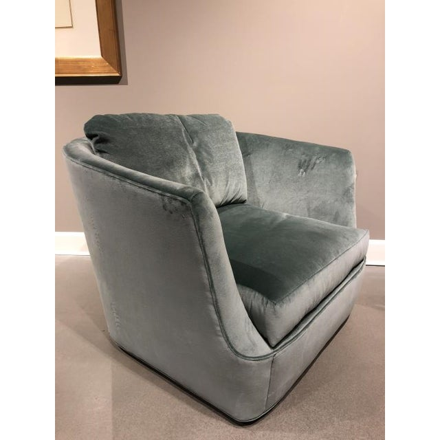 Transitional Century Furniture Lucca Swivel Chair For Sale - Image 3 of 5