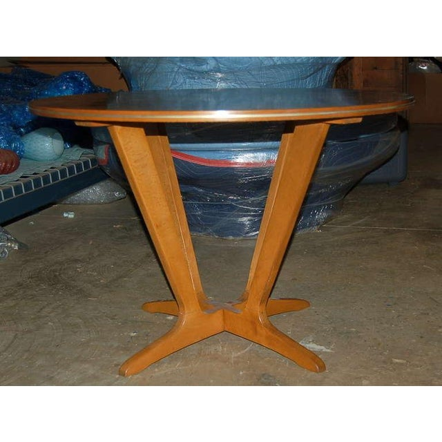 Jese Mobel Jese Mobel Danish Vintage Wood Table For Sale - Image 4 of 10