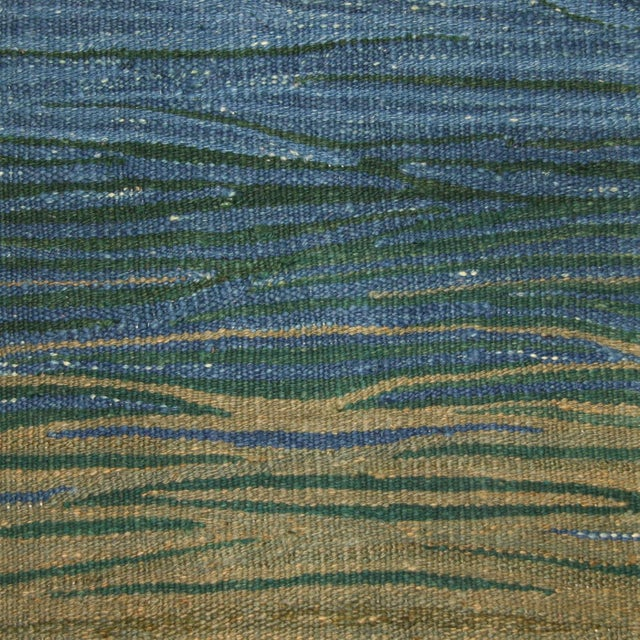 "Turkish Kilim Flat Weave Runner - 2'1"" x 5'3"" - Image 3 of 4"